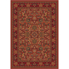 Milliken Abadan 64-in x 46-in Rectangular Red/Pink Transitional Area Rug