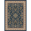 Milliken 7-ft 8-in x 10-ft 9-in Candle Blue Halkara Area Rug
