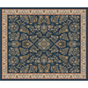 Milliken 10-ft 9-in x 13-ft 2-in Candle Blue Halkara Area Rug