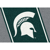 Milliken 2-ft 8-in x 3-ft 10-in Rectangular NCAA Michigan State Spartans Accent Rug