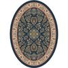 Milliken Halkara Multicolor Oval Indoor Tufted Area Rug (Common: 4 x 6; Actual: 46-in W x 64-in L)
