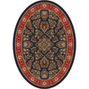 Milliken 7-ft 8-in x 10-ft 9-in Ebony Halkara Area Rug