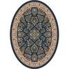 Milliken Halkara Multicolor Oval Indoor Tufted Area Rug (Common: 8 x 11; Actual: 92-in W x 129-in L)