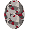 Milliken Remous Multicolor Oval Indoor Tufted Area Rug (Common: 5 x 8; Actual: 64-in W x 92-in L)