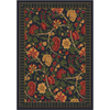 Milliken Vachell Rectangular Black Transitional Tufted Area Rug (Common: 5-ft x 8-ft; Actual: 5.33-ft x 7.66-ft)