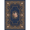 Milliken 5-ft 4-in x 7-ft 8-in Phantom Blue Montfleur Area Rug
