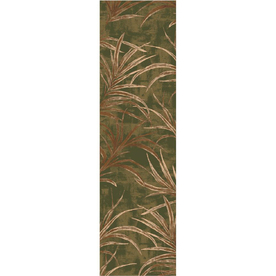 Milliken Rain Forest Multicolor Rectangular Indoor Tufted Runner (Common: 2 x 8; Actual: 25-in W x 92-in L)