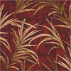Milliken 7-ft 7-in x 7-ft 7-in Russet Rain Forest Area Rug