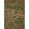 Milliken 7-ft 8-in x 10-ft 9-in Deep Olive Rain Forest Area Rug