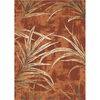 Milliken 7-ft 8-in x 10-ft 9-in Fall Orange Rain Forest Area Rug