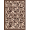 Milliken 7-ft 8-in x 10-ft 9-in Rectangular Cafe Creme Modernes Area Rug