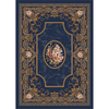 Milliken 3-ft 10-in x 5-ft 4-in Phantom Blue Montfleur Area Rug