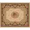 Milliken 10-ft 9-in x 13-ft 2-in Boston Creme Montfleur Area Rug