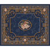 Milliken 10-ft 9-in x 13-ft 2-in Phantom Blue Montfleur Area Rug
