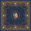 Milliken 7-ft 7-in x 7-ft 7-in Phantom Blue Montfleur Area Rug