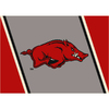 Milliken NCAA College Spirit Multicolor Rectangular Indoor Tufted Sports Area Rug