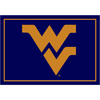 Milliken 5-ft 4-in x 7-ft 8-in West Virginia University Area Rug