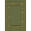 Milliken Woodland 92-in x 64-in Rectangular Green Floral Area Rug