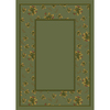 Milliken Woodland 64-in x 46-in Rectangular Green Floral Area Rug