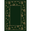 Milliken Woodland Rectangular Green Floral Tufted Area Rug (Common: 4-ft x 6-ft; Actual: 3.83-ft x 5.33-ft)