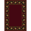 Milliken 7-ft 8-in x 10-ft 9-in Cranberry II Imperial Rose Area Rug