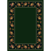 Milliken Imperial Rose 129-in x 92-in Rectangular Green Floral Area Rug