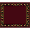Milliken 10-ft 9-in x 13-ft 2-in Cranberry II Imperial Rose Area Rug