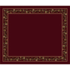 Milliken 10-ft 9-in x 13-ft 2-in Cranberry II Chatsworth Area Rug