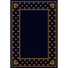 Milliken Royalty Rectangular Blue Transitional Tufted Area Rug (Common: 5-ft x 8-ft; Actual: 5.33-ft x 7.66-ft)
