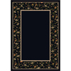 Milliken Appalachia Rectangular Black Transitional Tufted Area Rug (Common: 5-ft x 8-ft; Actual: 5.33-ft x 7.66-ft)