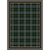 Milliken 7-ft 8-in x 10-ft 9-in Emerald Stratford Area Rug