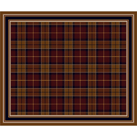 Milliken Stratford Rectangular Red Transitional Tufted Area Rug (Common: 10-ft x 13-ft; Actual: 10.75-ft x 13.16-ft)