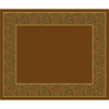 Milliken Garden Grove Rectangular Brown Transitional Tufted Area Rug (Common: 10-ft x 13-ft; Actual: 10.75-ft x 13.16-ft)