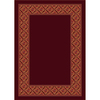 Milliken Abbott Rectangular Red Transitional Tufted Area Rug (Common: 8-ft x 11-ft; Actual: 7.66-ft x 10.75-ft)