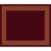 Milliken 10-ft 9-in x 13-ft 2-in Cranberry II Abbott Area Rug