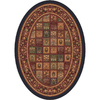 Milliken Pristina Multicolor Oval Indoor Tufted Area Rug (Common: 4 x 6; Actual: 46-in W x 64-in L)