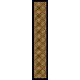 Milliken Abbott Blue Tufted Runner (Common: 2-ft x 12-ft; Actual: 2.333-ft x 11.666-ft)