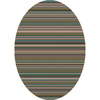 Milliken Canyon 5-ft 4-in x 7-ft 8-in Oval Multicolor Transitional Area Rug