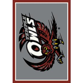 Milliken 2-ft 8-in x 3-ft 10-in Rectangular NCAA Temple Owls Accent Rug