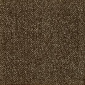 Milliken 12-Pack 19.7-in x 19.7-in Java Brown Textured Peel-and-Stick Carpet Tile