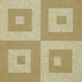 Milliken 12-Pack 19.7-in x 19.7-in Casual Cream Textured Peel-and-Stick Carpet Tile