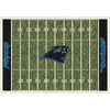 Milliken 5-ft 4-in x 7-ft 8-in Carolina Panthers NFL Homefield Area Rug