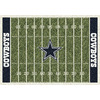 Milliken 5-ft 4-in x 7-ft 8-in Dallas Cowboys NFL Homefield Area Rug