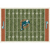 Milliken 5-ft 4-in x 7-ft 8-in Miami Dolphins NFL Homefield Area Rug