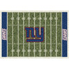 Milliken 5-ft 4-in x 7-ft 8-in New York Giants NFL Homefield Area Rug