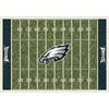 Milliken 5-ft 4-in x 7-ft 8-in Philadelphia Eagles NFL Homefield Area Rug