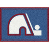 Milliken 2-ft 8-in x 3-ft 10-in Rectangular NHL Quebec Nordiques Accent Rug