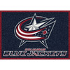 Milliken 2-ft 8-in x 3-ft 10-in Rectangular NHL Columbus Blue Jackets Accent Rug