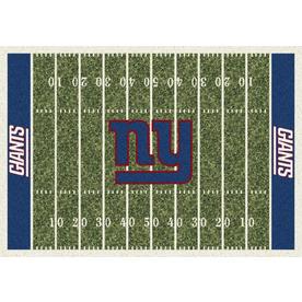 Milliken NFL Home Field Multicolor Rectangular Indoor Tufted Sports Area Rug (Common: 4 x 6; Actual: 46-in W x 64-in L)