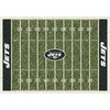 Milliken 7-ft 8-in x 10-ft 9-in New York Jets NFL Homefield Area Rug